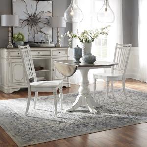 Magnolia Manor Opt 3 Piece Drop Leaf Table Set