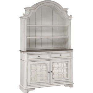 Magnolia Manor Hutch & Buffet