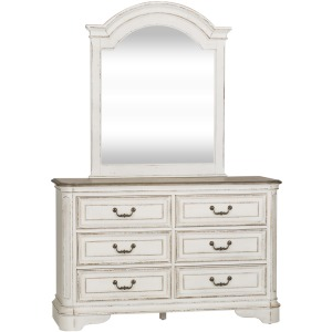 Magnolia Manor Dresser & Mirror