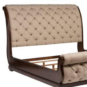 Cotswold King Upholstered Sleigh Headboard