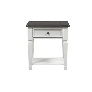 Allyson Park Drawer End Table