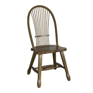 Treasures Sheaf Back Side Chair - Oak