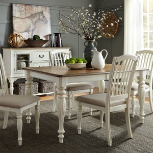 Cumberland Creek 5 Piece Rectangular Table Set