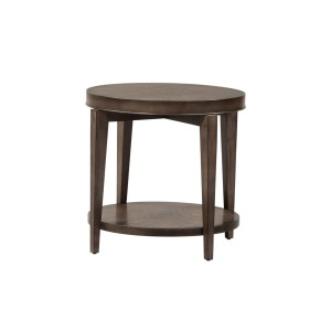 Penton Round End Table