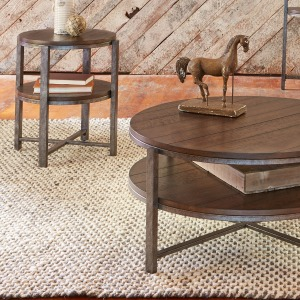 Breckinridge 3 Piece Set (1-Cocktail 2-End Tables)