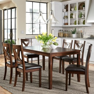 Thornton 7 Piece Rectangular Table Set