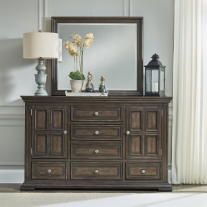 Big Valley Dresser & Mirror
