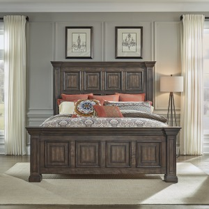 Big Valley King Panel Bed