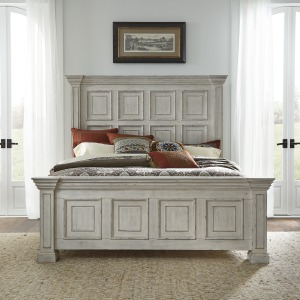 Big Valley King California Panel Bed