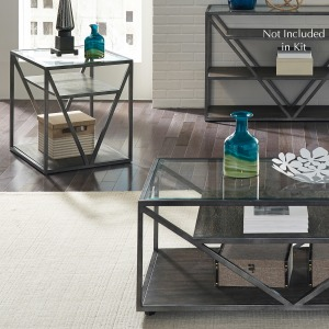 Arista 3 Piece Set (1-Cocktail 2-End Tables)