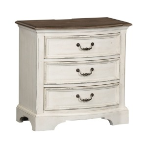 Abbey Road 3 Drawer Night Stand