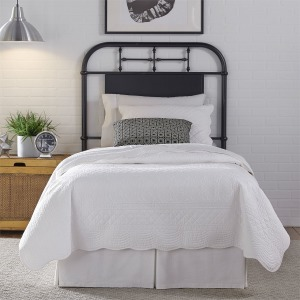 Vintage Series Full Metal Headboard - Black