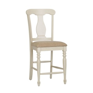 Ocean Isle Uph Splat Back Counter Chair (RTA)