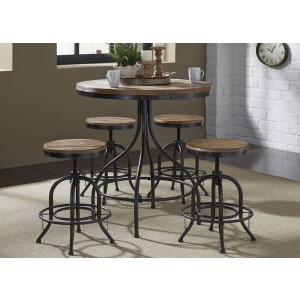 Vintage Series 5 Piece Pub Table Set