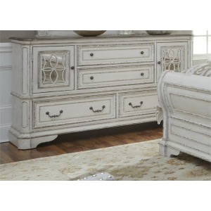 Magnolia Manor 2 Door 4 Drawer Dresser
