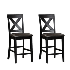 Thornton II X Back Counter Chair- Pack of 2
