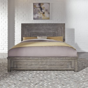 Modern Farmhouse Queen Panel Bed