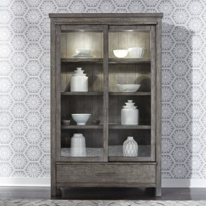 Modern Farmhouse Display Cabinet