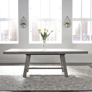 Modern Farmhouse Trestle Table Set