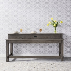 Modern Farmhouse Console Bar Table