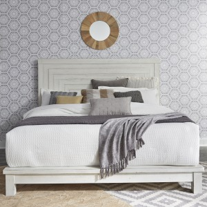 Modern Farmhouse Queen Platform Bed