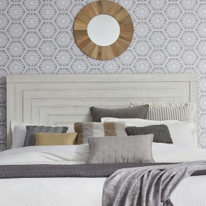Modern Farmhouse Queen Panel Headboard