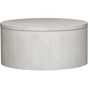 Modern Farmhouse Drum Cocktail Table