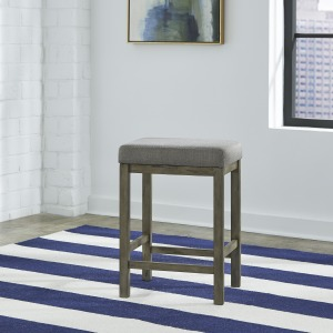 Hayden Way Uph Console Stool
