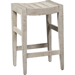 Color Nook Counter Height Barstool (RTA) - White