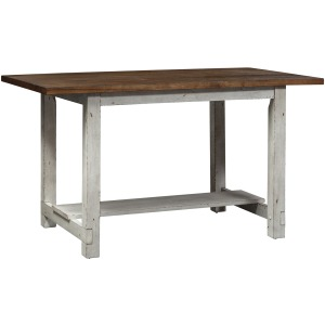 Color Nook Gathering Table - White