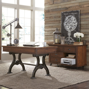 Arlington House Complete 2 Piece Desk