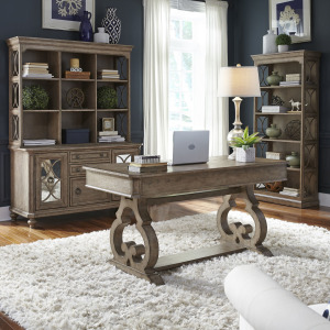Simply Elegant 3 Piece Desk & Hutch Set
