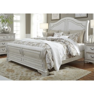 Magnolia Manor Queen Sleigh Bed