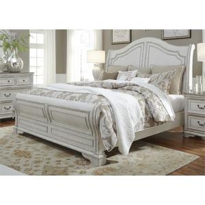 Magnolia Manor Queen Sleigh Bed