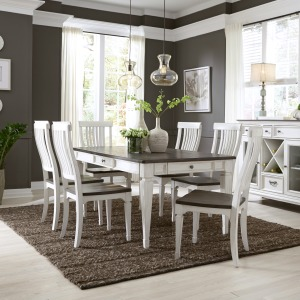 Allyson Park 7 Piece Rectangular Table Set