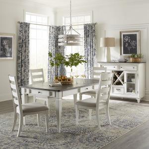 Allyson Park Optional 5 Piece Rectangular Table Set
