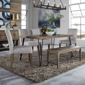 Horizons 6 Piece Rectangular Table Set