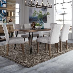 Horizons 7 Piece Rectangular Table Set