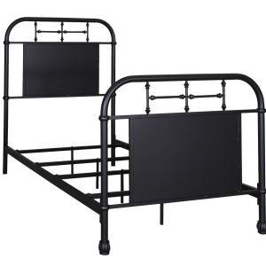 Vintage Series Full Metal Bed - Black