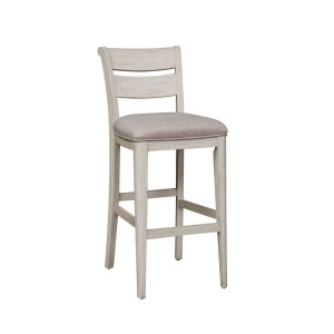 Farmhouse Reimagined 30 Inch Ladder Back Barstool (RTA)