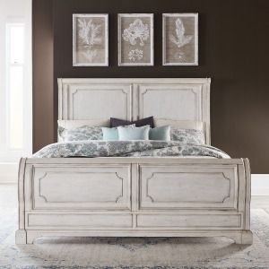 Abbey Road Queen Sleigh Bed