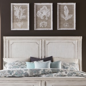 Abbey Road King Sleigh Headboard