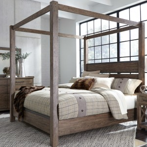 Sonoma Road King California Canopy Bed