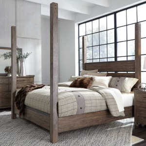 Sonoma Road King Poster Bed
