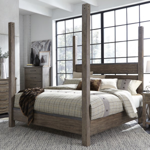 Sonoma Road Queen Poster Bed