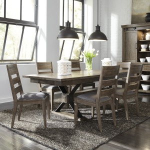 Sonoma Road 7 Piece Trestle Table Set