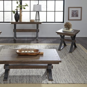 Sonoma Road 3 Piece Set (1-Cocktail 2-End Tables)
