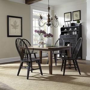 Hearthstone Ridge 5 Piece Rectangular Table Set