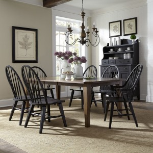 Hearthstone Ridge 7 Piece Rectangular Table Set