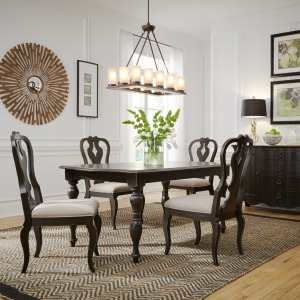 Chesapeake 5 Piece Rectangular Table Set